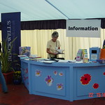 Information Desk in the Entrance Tent |