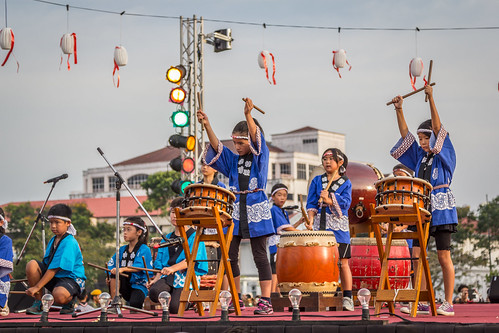 Drums at Bon Odori by andrewcharlie