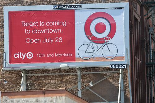 City Target billboard