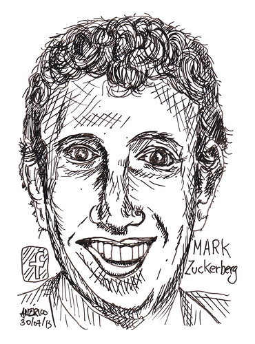 Mark Zuckerberg, CEO of Facebook by americoneves