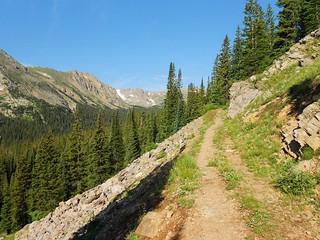 Higher Up Devil's Thumb Pass Trail
