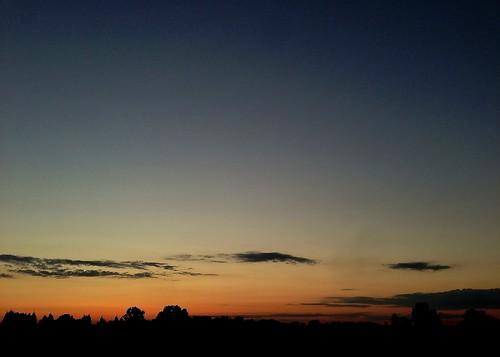 moon sunrise indiana crescent astronomy calumet iphone conwayobservatory