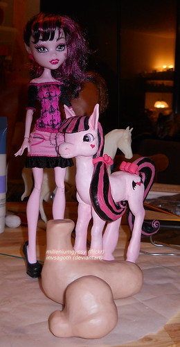 N pony sculpt continued