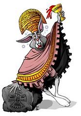Ometochtli-aztec