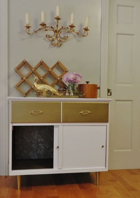 painted storage cabinet