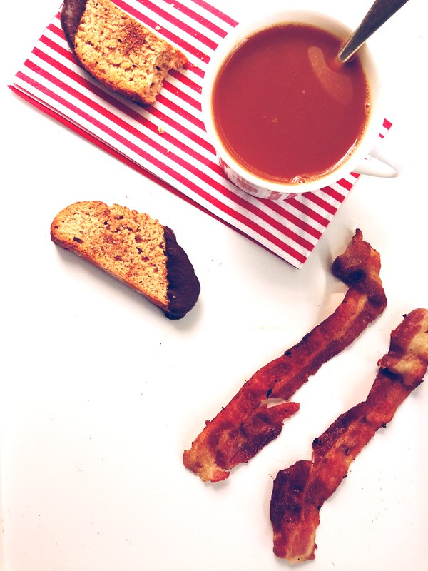 bacon and cookies, please.