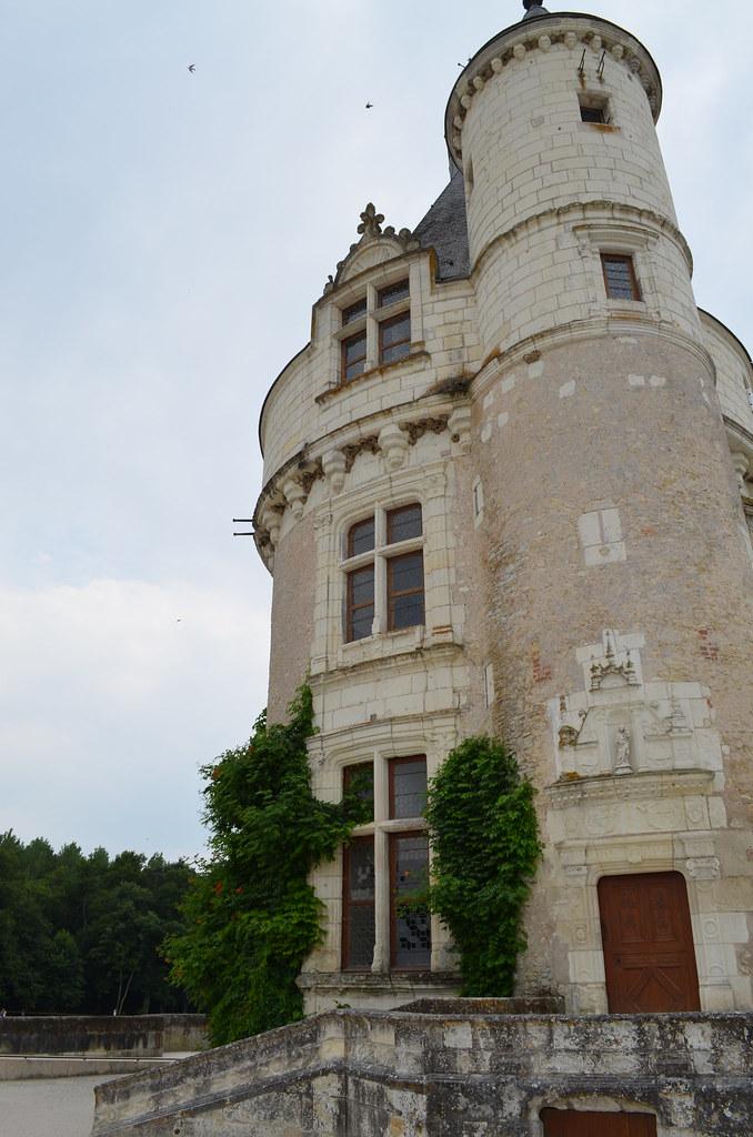 Chateau de Chenonceau front tower
