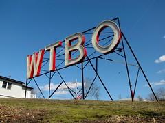 WTBO sign