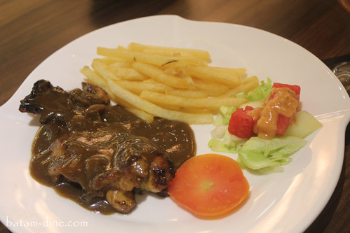 Chicken Steak - Batam Dine