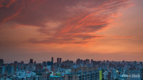 sunset clouds taiwan 日落 台中市 taichungcity sonya850 sony2470za