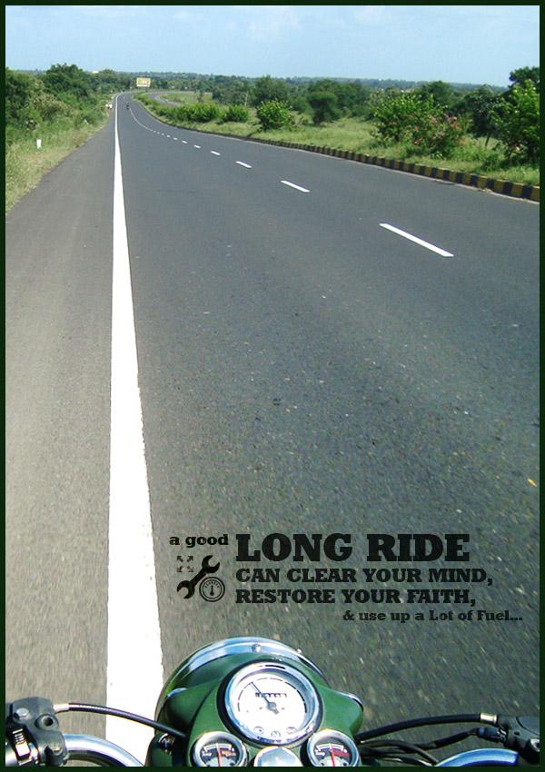 A Long Ride...