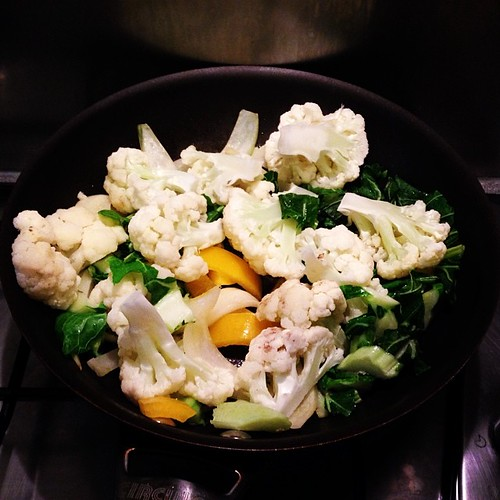 Veggies for Cauliflower Curry