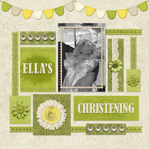 Ella's Christening by Lukasmummy