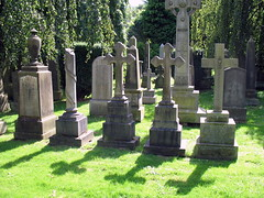 Tombstones: Dean Cemetery, Edinburgh, Scotland