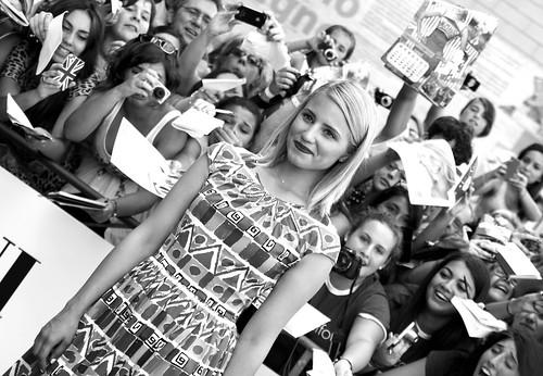 Dianna Agron. Giffoni Film Festival 2012
