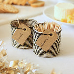 Recycled Bottle Toothpick Receptacles