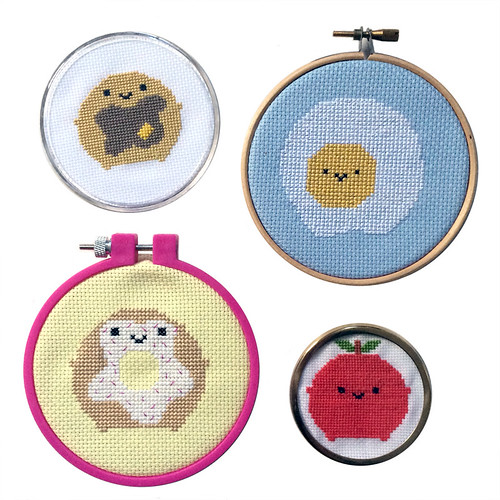 Kawaii Breakfast Cross Stitch