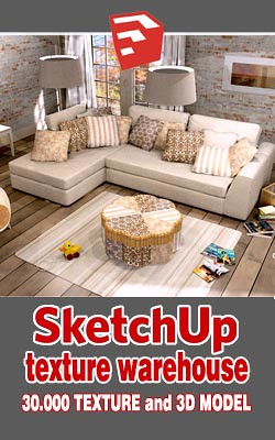 SKETCHUP TEXTURE TRENDS