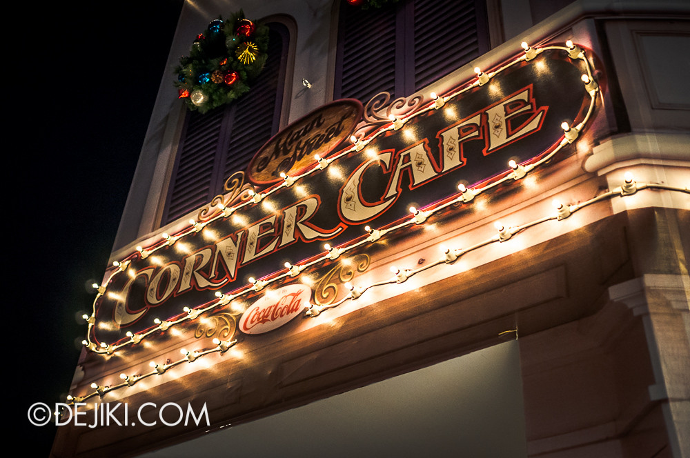 Main Street Corner Cafe - 2D Sign