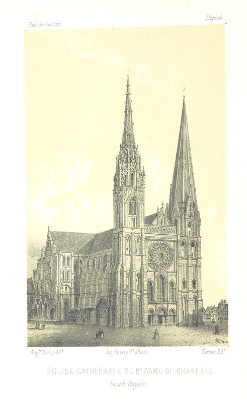 Image taken from page 8 of 'Histoire de Chartres. [With plates.]'
