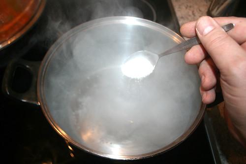 38 - Salz hinzufügen / Add salt