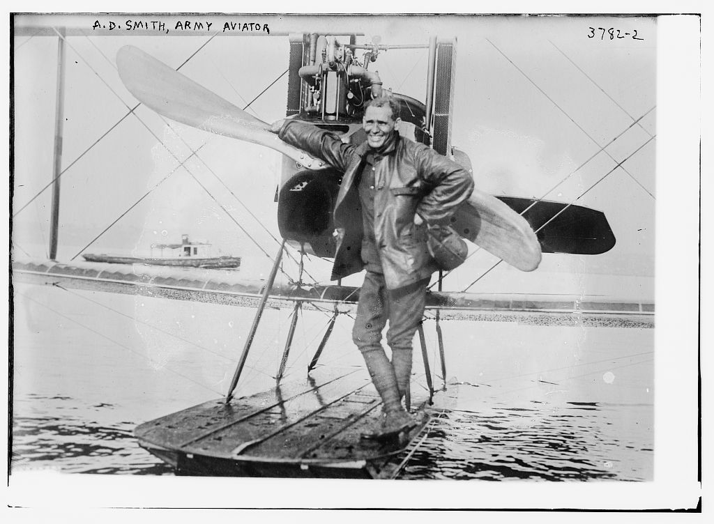 A.D. Smith, Army Aviator (LOC)