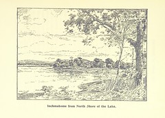 """British Library digitised image from page 81 of """"The Lake of Menteith: its islands and vicinity. With historical accounts of the Priory of Inchmahome and the Earldom of Menteith. ... Illustrated with pen and ink drawings by W. Bain"""""""