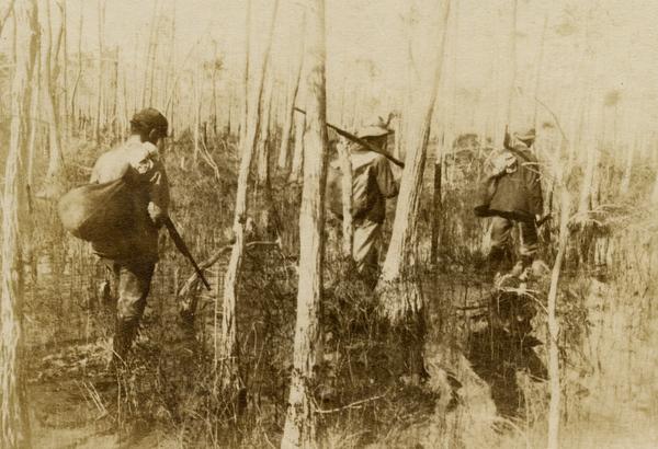 Koreshans hunters near Estero, Florida
