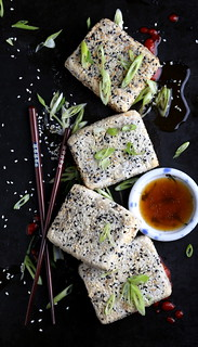 Olives for Dinner | Sesame Crusted Fu