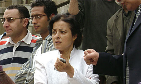Dr. Mona Mina is the first woman to head the Doctor's Syndicate in Egypt. She is not a member of the Muslim Brotherhood. by Pan-African News Wire File Photos