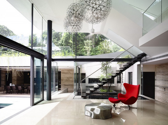 11557455865 90c7e6fff7 z Thiết kế ngôi nhà trên đường Andrew/ Hãng a dlab