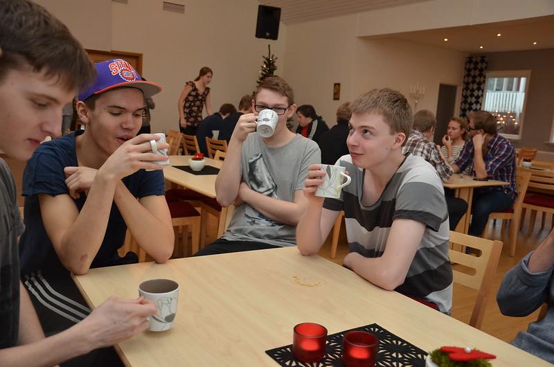 SYBB 2014-01-04 - Fikapaus - Oskar, Oscar, Emil och Tobias