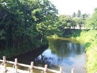 鶴ヶ城・お掘