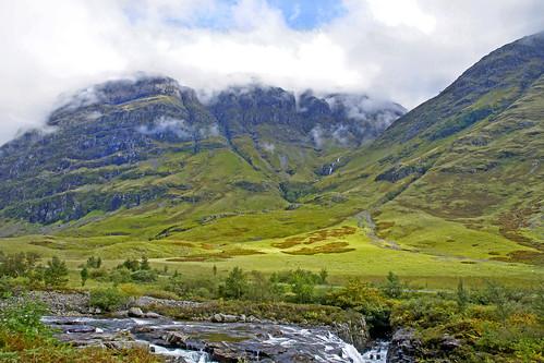 cloud mountains river scotland highlands day cloudy glen glencoe blinkagain