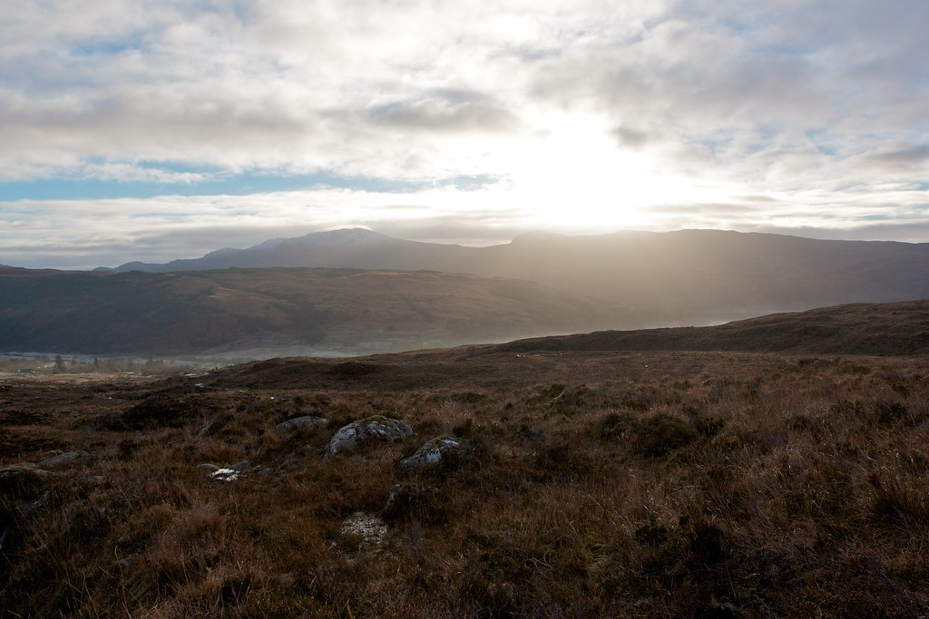 Sunlight over Strontian