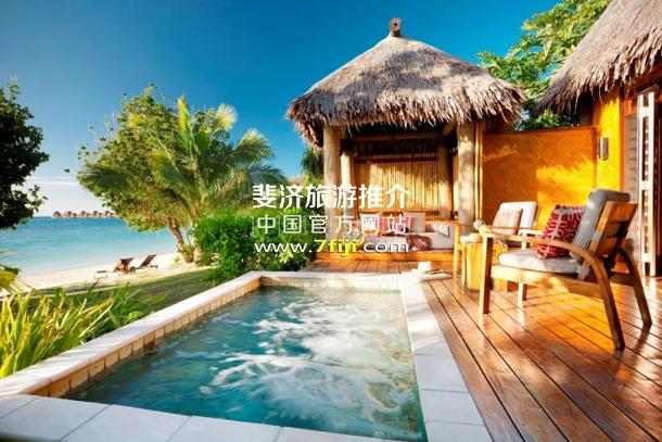 带私人泳池的奢华沙滩别墅