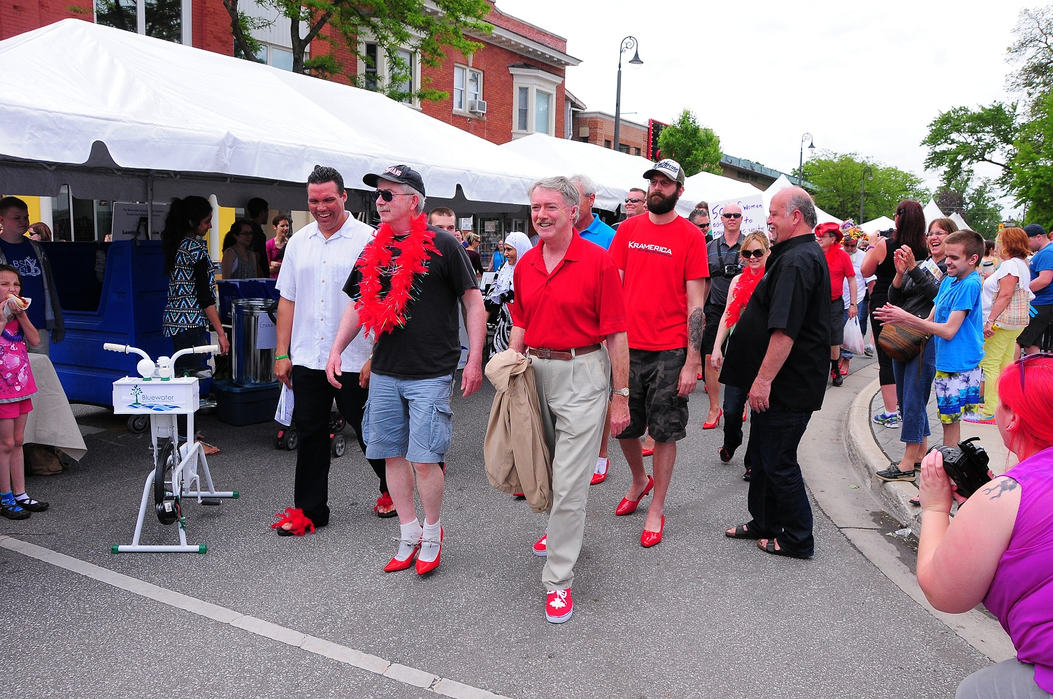 Walk A Mile In Her Shoes Sarnia
