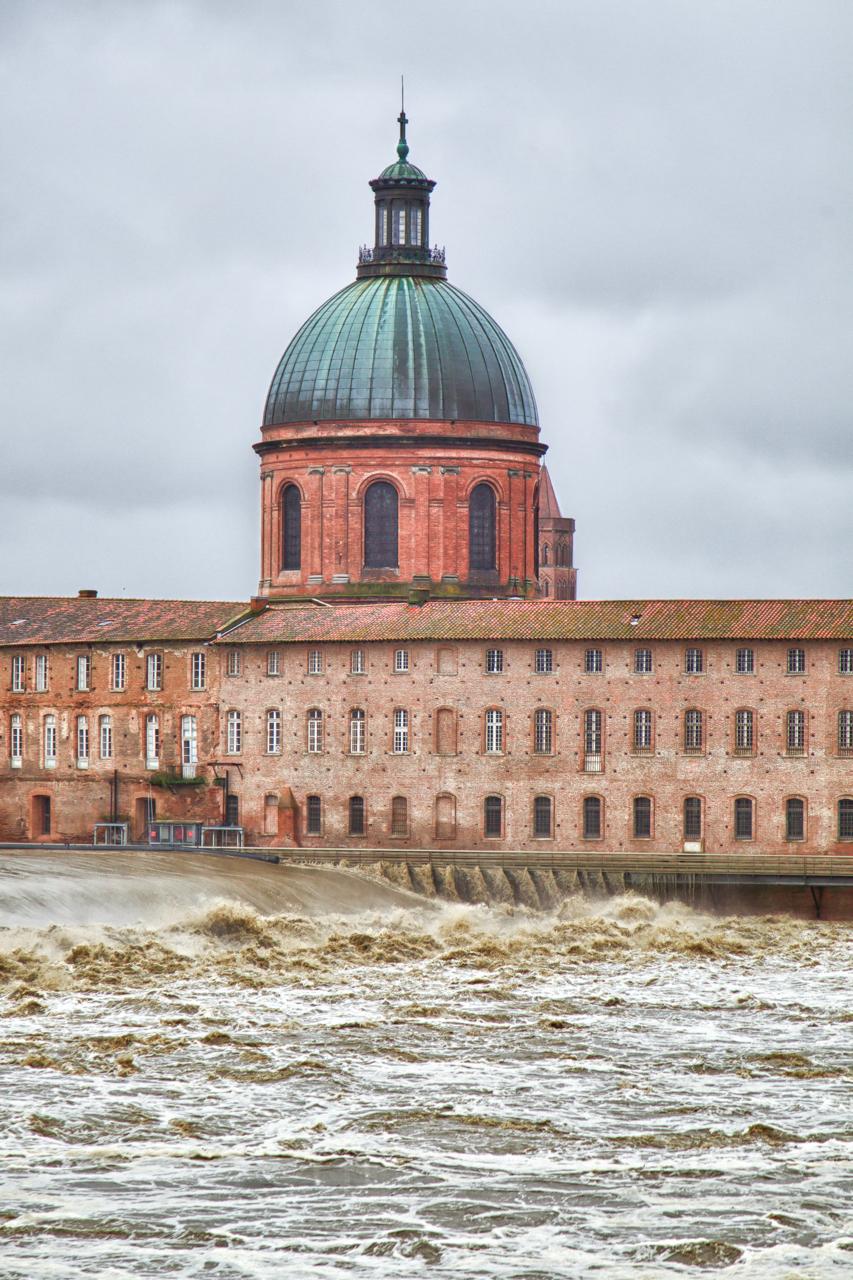 la Garonne en crue, 25 et 26 janvier 2014, Toulouse 12136833375_50b26a4148_o
