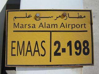 Autokennzeichen: Ägypten (Marsa Alam Airport)