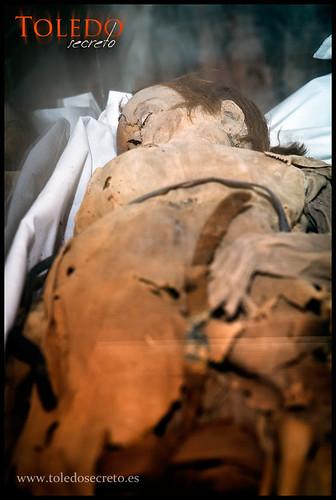 Momia de Sanchito, infante de Castilla en Santo Domingo el Real