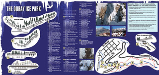 Ouray Ice Climbing Map