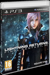 Lightning Returns : FFXIII - Cover