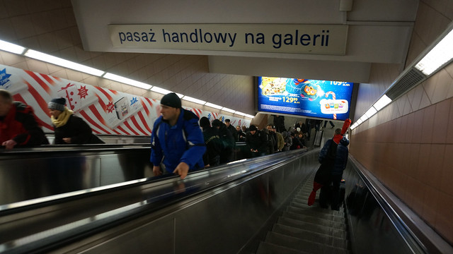 Warsaw: Taking The Metro & Leaving To Krakow By PolskiBus