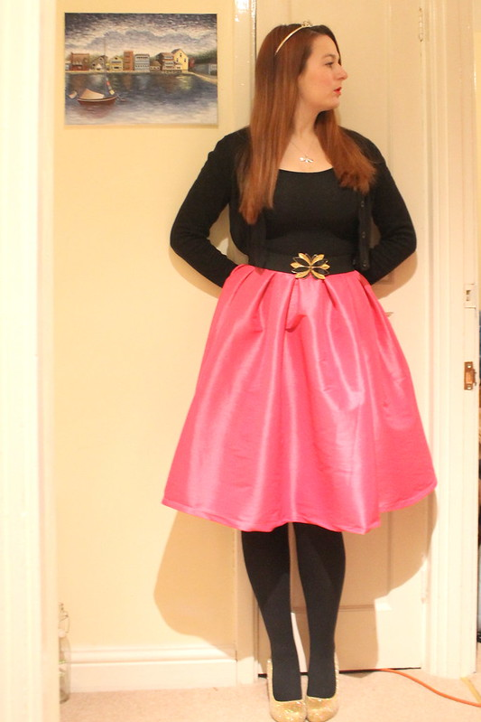 uk style blog, princess skirt