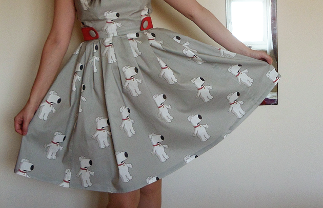 Brian Griffin from Family Guy dress