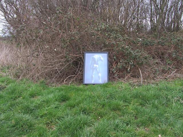 Kunst oder illegale Müllentsorgung?