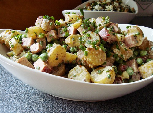 Sausage Fingerling Potato Salad