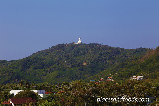 phuket big buddha mountain view