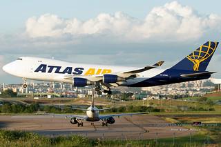 ATLAS AIR BOEING 747-400 - SBKP / VCP