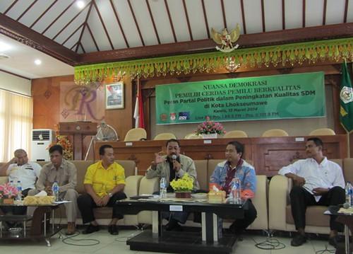 RRI Gelar Diskusi Publik 'Nuansa Demokrasi'